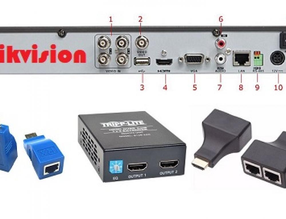 هایک ویژن – چگونه دستگاه DVR خود را به تلویزیون متصل کنیم ؟