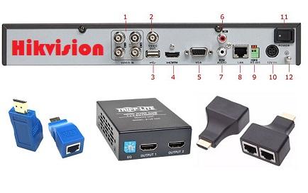 چگونه دستگاه DVR خود را به تلویزیون متصل کنیم ؟   وصل كردن دوربين مدار بسته به تلويزيون