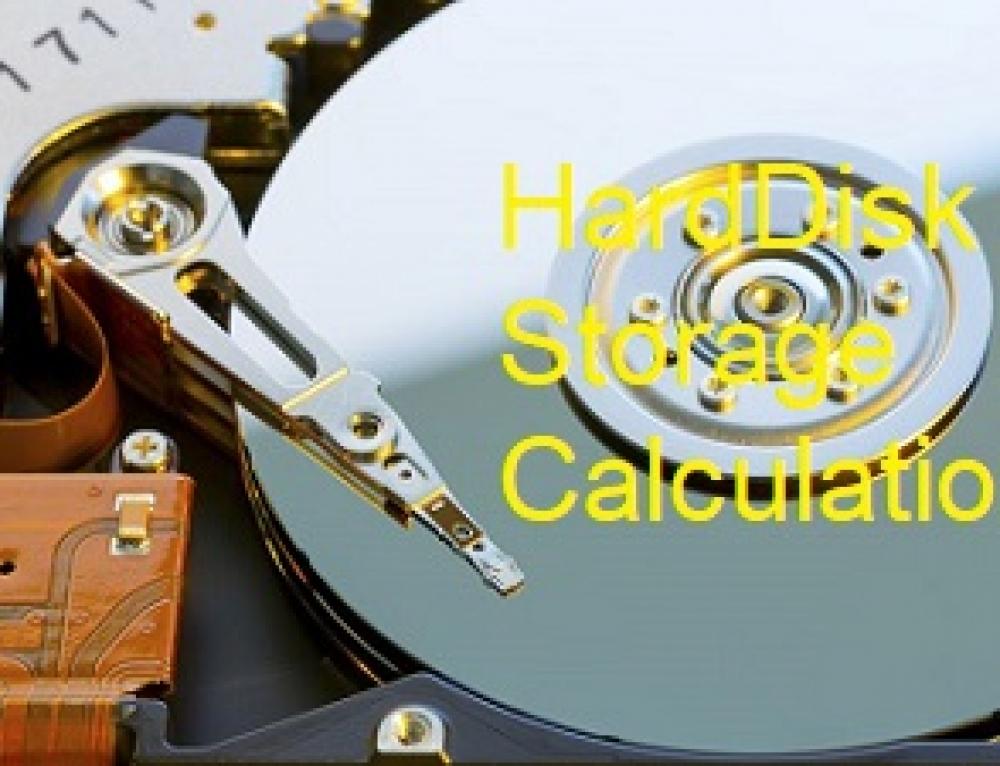 هایک ویژن – محاسبه فضا و پهنای باند مورد نیاز برای ذخیره سازی ویدئو دوربین مداربسته :