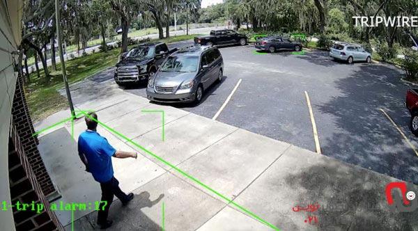 چگونگی کارکرد قابلیت line crossing
